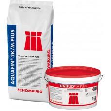 Aquafin 2k/m plus Hydroizolacja paro przepuszczalna na   10m2   op 35kg