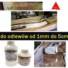 Żywica epoksydowa bezbarwna odlewnicza Micronfloor Epoxidharz  pox 500 crystaline UV-  0.7kg