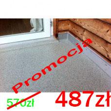 Zestaw żywic do wykonania posadzki balkonowej malowanej anty-poślizgowej 10m2=48zł/m2