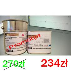 Żywica epoksydowa do malowania garażu,kotłowni na 10-15m2 Micronfloor Epoxidharz  Pox Aqua G20   6kg