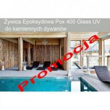 Żywica epoksydowa bezbarwna Micronfloor Pox 400 Glass UV - 30kg