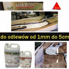 Żywica epoksydowa bezbarwna odlewnicza Micronfloor Epoxidharz  pox 500 crystaline UV  5,6kg