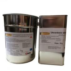 Żywica poliuretanowa alifatyczna do kamiennych dywanów Micronfloor Polyurethane Transparente UV Fast-12kg