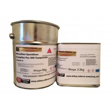 Żywica epoksydowa Micronfloor Crystalline Pox 400 Transparente - 7.5kg