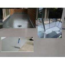 Hydroizolacja poliuretanowa odporna Micronfloor Pur UV 50-s  - 8kg  wydajność od 10m2 do 12m2.