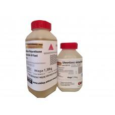 Żywica poliuretanowa alifatyczna do kamiennych dywanów Micronfloor Polyurethane Transparente UV Fast- 2,5kg